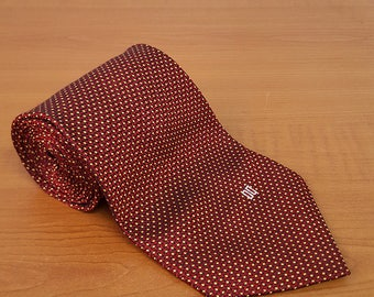 Vintage DAKS Mens Silk Necktie Casual Suit Neck Tie 068