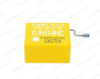 "Music Box ""You Are My Sunshine"" Refrigerator Magnet [SSRM-0075]"