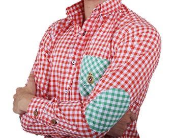 Shirt Porto White Knight 100% cotton Orange PB-544 pictures