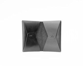 Black Leather Bifold Wallet No.1