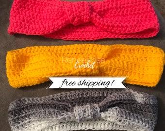 Crochet Ear Warmer/Headwraps