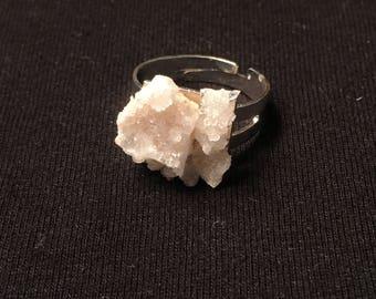 Crystal Geode Ring