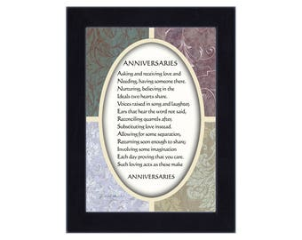 Anniversaries, Anniversary Gifts for Couples, 7x9 77922