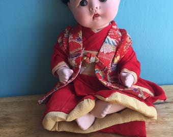 1950's Japanese Doll