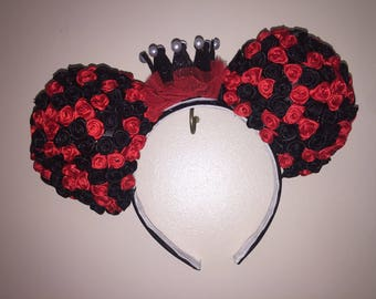 Queen of Hearts Minnie Mouse ears
