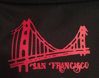 SF Iron on decal