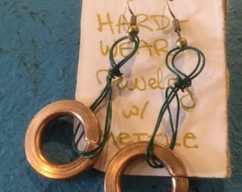 HARDWEAR Earrings: Lock Washers