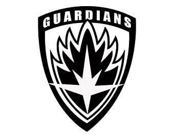 Guardians Of The Galaxy Vinyl Decal
