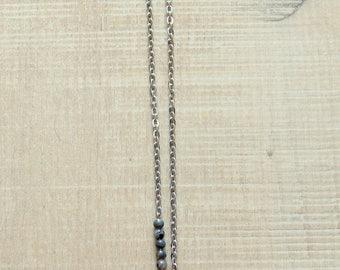 Sautoire phoenix tail and gem beads