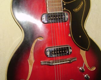 Musima 1655 Electric Guitar Germany Vintage and Rare