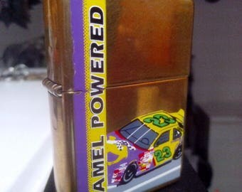 Camel Powered Zippo Lighter