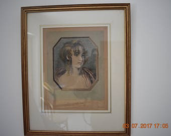 authentic gravure 19th c. France