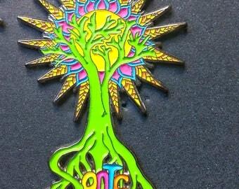 Sonic Bloom Pin