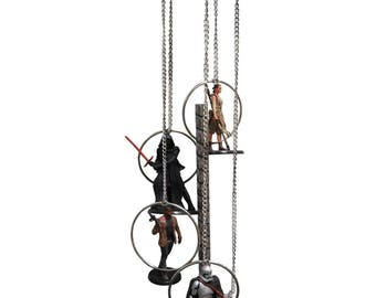 Star Wars Wind Chime, Star Wars Home Decor, Star Wars Figures, Star Wars Gift, Gift For Him, Star Wars Collectibles, MAAC Windchimes