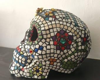 Mosaic skull 2