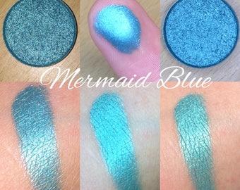 Pressed Eyeshadow (Mermaid Blue)