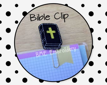 Planner Clip -Felt Bible Clip-Planner Clips-Planner Accesories- Paper Clips-Journal Clip-Agenda Clip-Bookmark-paper organization