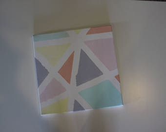 Geometric Canvas Design