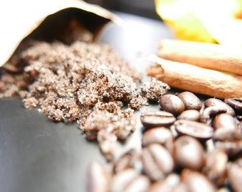 """CAFE CON CANELA Body Scrub """"Exfoliante de Cafe y Canela"""""""