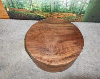 Black Walnut, 9 x 4  Turning wood bowl blank, large   # 8758