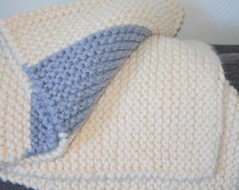 Maxi wool scarf