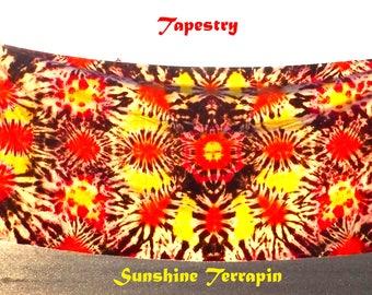 Cool Muslin Tie Dye Tapestry