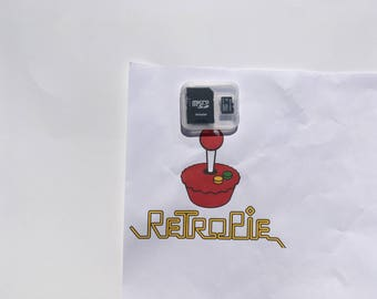 16gB Retropie games SD card for Raspberry Pi 3