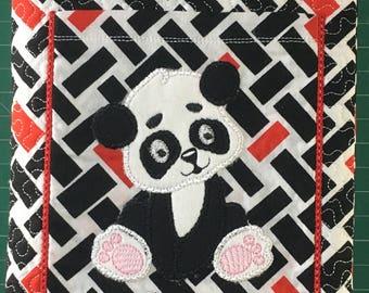 Panda Notebook Cover