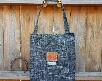 Boot bag/ hobo bag