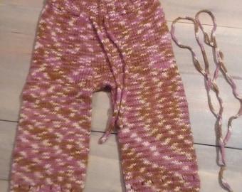 knit wool longies