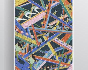 Intricate Space A3 Giclée Print