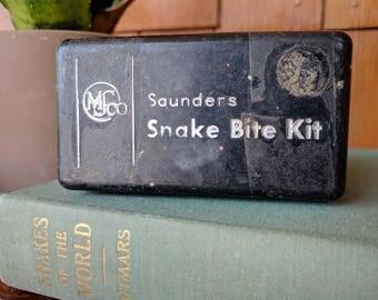 Vintage Saunders Snake Bite Kit