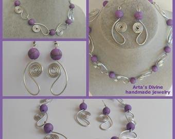 Handmade Set 0003 by Arta's Divine handmade jewelry