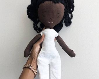 Talia Handmade Rag Doll