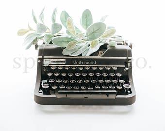 Typewriter Styled Stock Photography Eucalyptus Styled Stock Photo Social Media Styled Stock Photo Business Styled Stock Photo Mockup - 0006