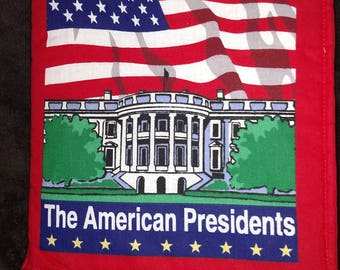 The American Presidents Cloth Book