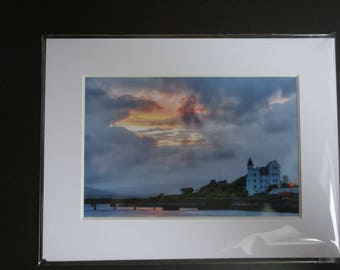 Photo of RIC Barracks, Caherciveen, Kerry 6x4 in an 8x6 Photo Mount