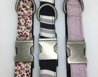 Durable purple dog collars!