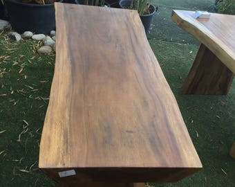 exotic wood table
