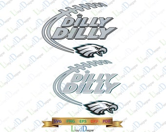 Philadelphia Eagles SVG Dilly Dilly Philadelphia Eagles svg Eagles dxf Dilly Dilly eagles shirt logo svg eps dxf png cut files cameo cricut