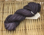 Variegated Cotton Worsted Weight Yarn (100% Cotton) Hand Dyed in Shades of Navy