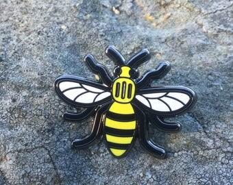 Manchester Worker Bee (original) Enamel Pin Badge