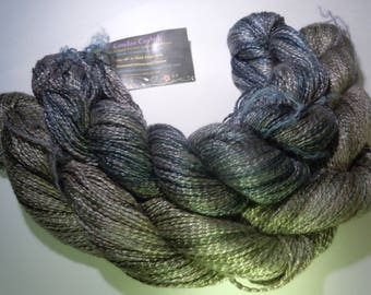 Shiny and Drapey Rayon , Plant fiber . There are 2 in the photo , choose which one you would like.