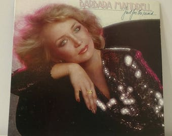 1979 Barbara Mandrell Just For The Record Vinyl Record Vtg. Good Condition