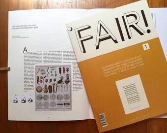 FAIR issue N.01