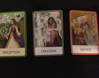 Chakra Oracle Three Card Reading