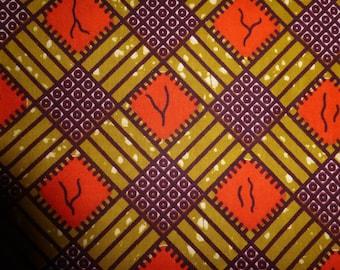 "6-088 - WAX ""SOUCLE KPE"" from Burkina Faso"