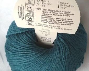 knit - crochet / 10 balls of 100% cotton - Egypt - French brand