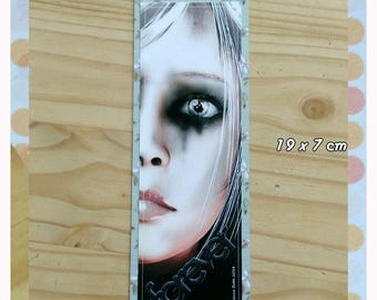 Bookmarks handmade unique not laminated.