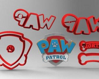 Paw Patrol Logo Multipart